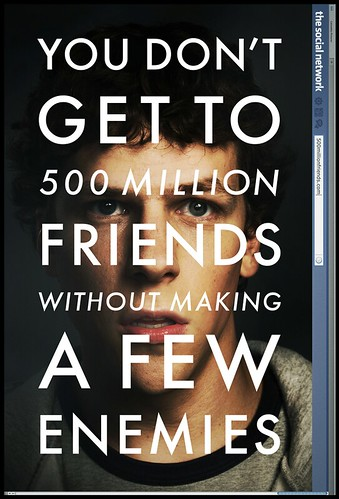 Columbia Pictures Predicting Facebook'S User Growth In Movie Poster [Pic]