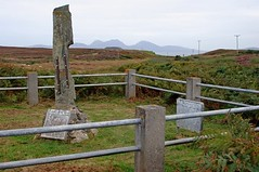The MacFie standing stone (Malcomb's end)