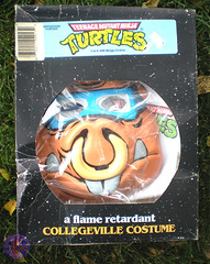 "Collegeville Costumes :: TEENAGE MUTANT NINJA TURTLES { OPPOSITION FORCES! } : ""BEBOP"" TINY TOT Costume with Mask i (( 1990 ))"