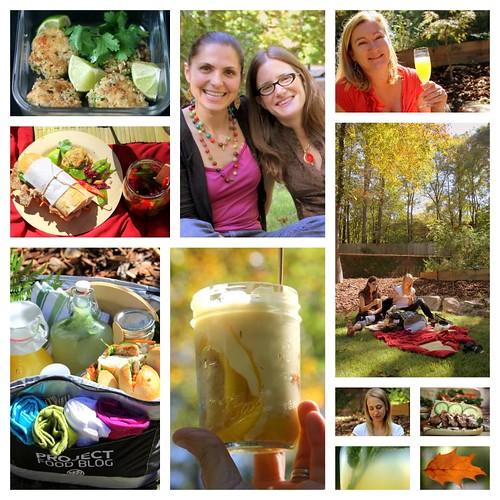 Fall picnic (Asian food)