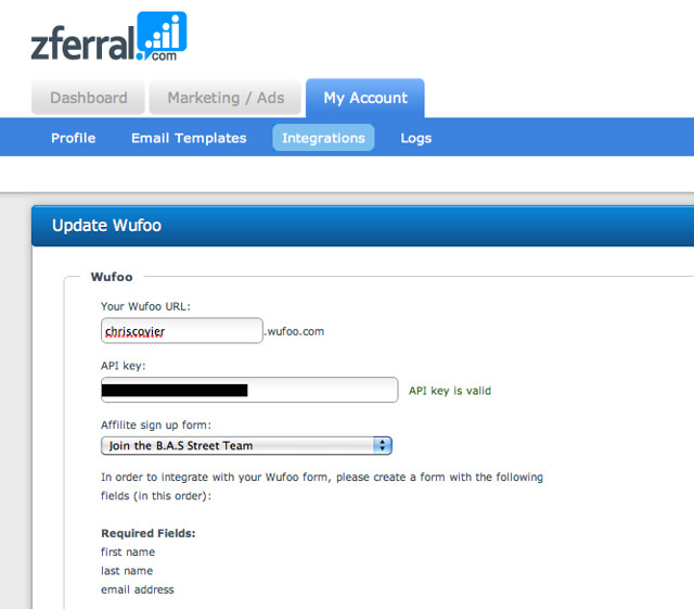 Wufoo Blog · Create an Affiliate Program with Zferral and