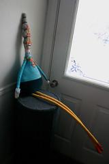 Frida-azul-5 (cara carmina) Tags: pink flowers blue orange black mexico dolls heart frida colores artdolls fridakahlo esther corazon monas muñecas clothdolls flres lovelydolls recyclefabrics muñecasrecicladas