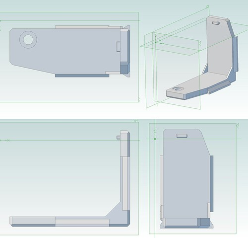 GXR P10 L bracket