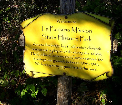 La Purisima Sign