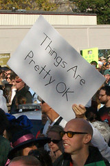 Things Are Pretty OK (Stephen Little) Tags: show people signs sign mall march washingtondc dc washington costume concert districtofcolumbia jonstewart election comedy unitedstates fear political politics capital rally protest performance demonstration capitol stewart restore irony nationalmall comedian johnstewart ironic vote crowds sanity colbert dailyshow voter stephencolbert comedycentral firstamendment attendee stewartcolbert tamronaf1750mmf28 10302010 october302010 marchtokeepfearalive rallytorestoresanity keepfearalive rally4sanity rallytorestoresanityandorfear restoresanity sanityandorfear rallytorestoresanityanoffear fearalive rallyfear jstephenlittlejr