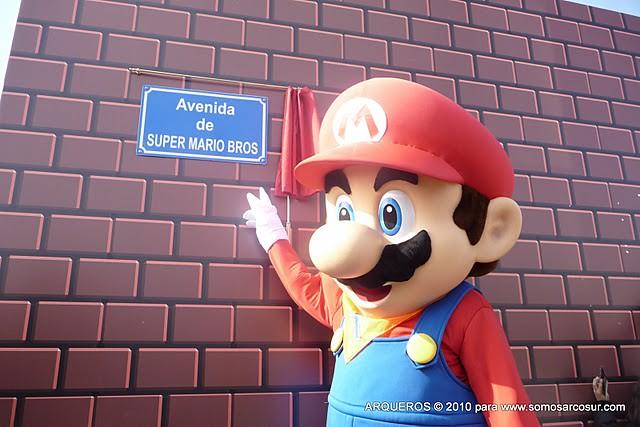 Avenida Super Mario Bros Zaragoza España