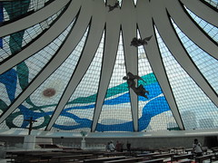 Catedral Metropolitana Nossa Senhora Aparecida (carlosoliveirareis) Tags: brazil heritage church southamerica niemeyer brasília brasil architecture cathedral unesco whbrasil
