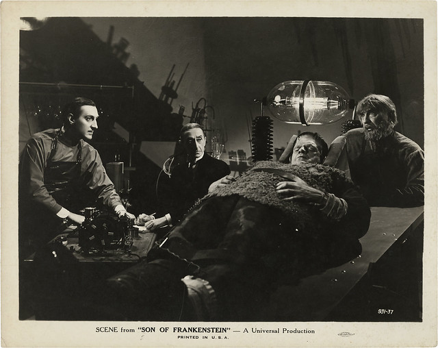 Son of Frankenstein (Universal, 1939) 10