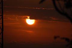Tramonto silhouette - sunset silhouette (kikkedikikka) Tags: sunset clouds tramonto nuvole sicily sicilia erice trapani rgspaesaggio rgscastelli rgsnatura rgsscorci