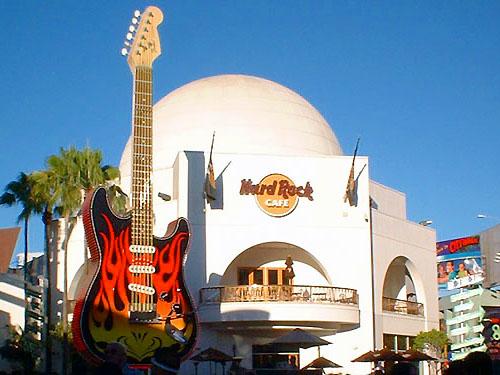 Hard Rock Cafe, Universal Studio