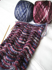 Hope & Donald Scarf (in progress)