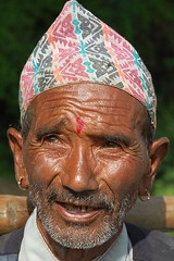 An Old man from Khokana - by Abishesh