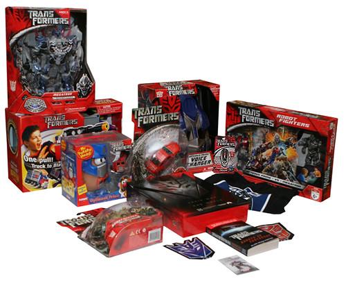 Transformers caja press kit 3