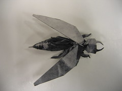 Vespid Wasp (PhillipWest) Tags: origami paperfolding papiroflexia