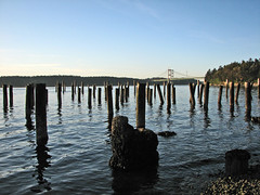 Tide's Out (mistymisschristie) Tags: blue sky water tacoma blueribbonwinner supershot titlowbeach top20blue excellentphotographerawards