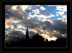 A Városháza (Rathaus) felhőkkel - by molamoni
