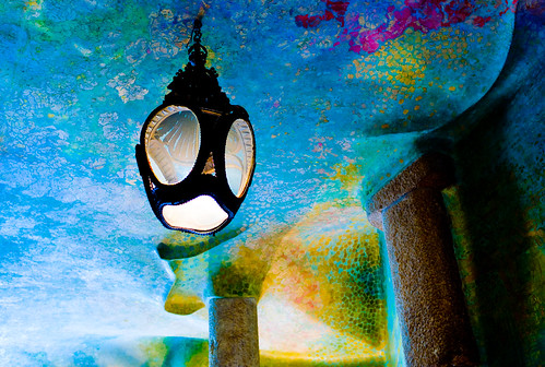 Inside Gaudi apartments