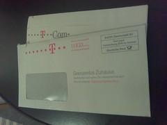 Telekom-Bestätigung