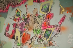 David Choe Mural at Facebook (Scott Beale) Tags: facebook davidchoe lunch20 upcoming:event=218898