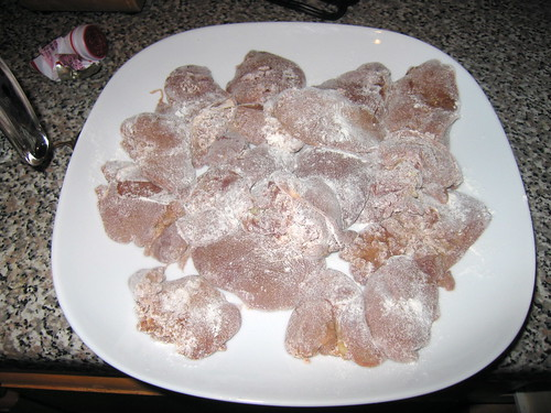 seasoned chicken liver