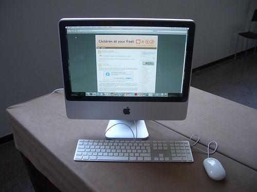 Cristina té un iMac