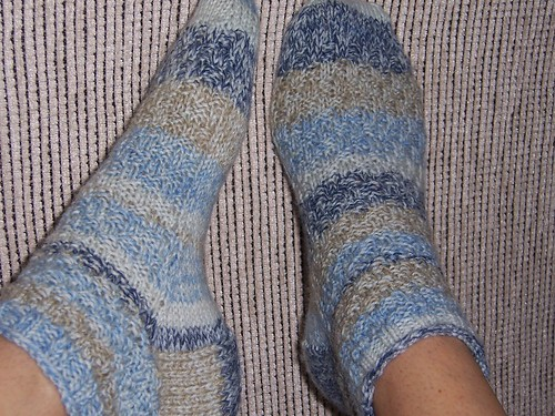 basketweave socks 2