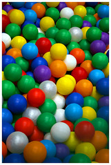 Ball Pool (Waka Jawaka) Tags: blue red white color green pool yellow ball circle purple round primary colur