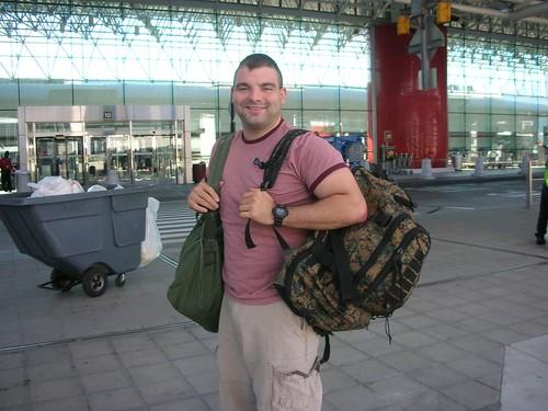 Jon Heads to the War in Iraq