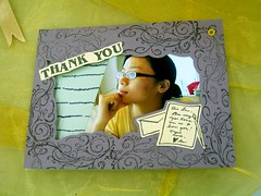 thank you card (with photo)
