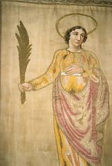 un saint patron pour Je Biscotte (piegui) Tags: saint bannire yonne puisaye saintsymphorien treigny