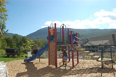 Playground at the West Hill community