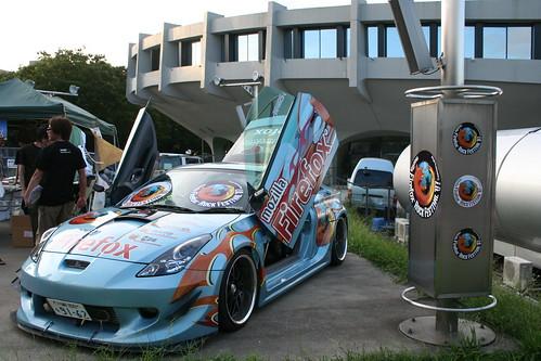 車上滿滿是 Firefox!