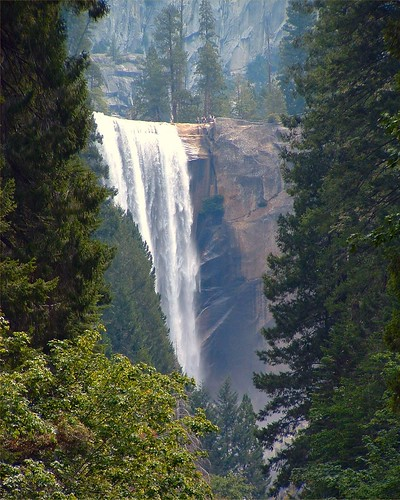 Vernal Fall in Yosemite National Park, California