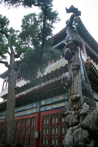 A pagoda.