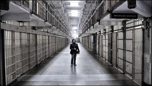 Martine at Alcatraz