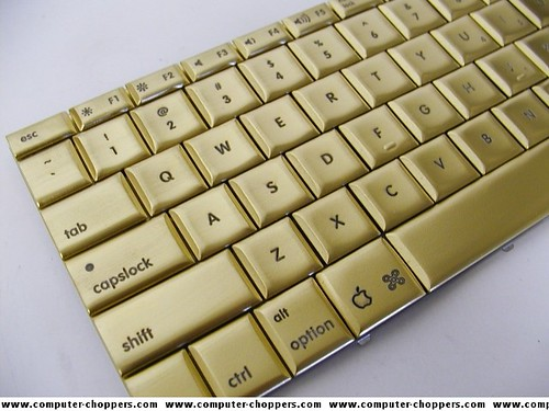 Gold Plated Mac Keyboard
