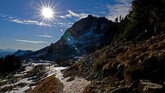 LPT_0273 (Lewis in Washington) Tags: hiking creative mountrainier 2008 michèle scrambling plummerpeak