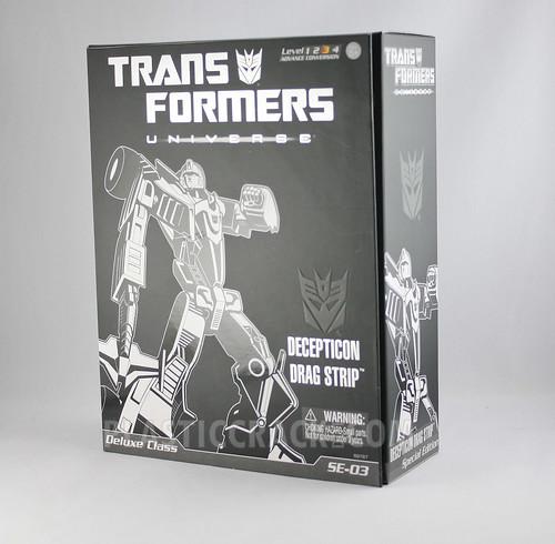 Transformers Universe Dragstrip (box)
