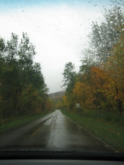 Road into the Porkies (Buckshot Landing, Michigan, United States) Photo