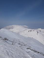 アンヌプリ北斜面からニセコ連峰