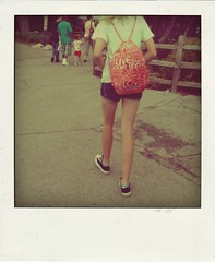 live* life* love* (.Jen likes to snap pics*) Tags: polaroid zoo fake converse backpack shorts chucks xsi poladroid