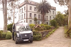 O estudio móbil en San Simón