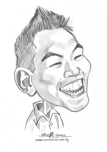 caricature for Hello Technology - 3