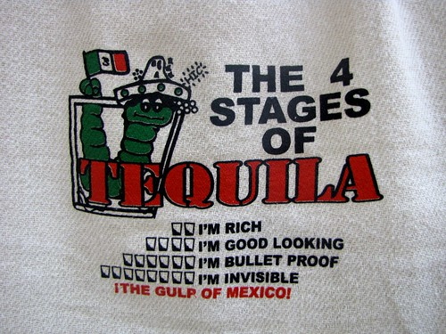 The 4 stages of tequila