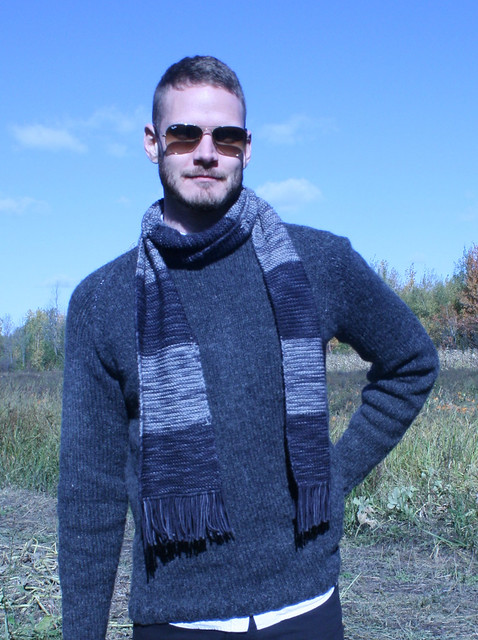 First sweater and first scarf!