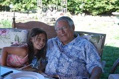 Grandpa & Violet