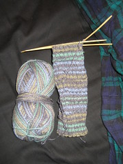 Gentlemen's Fancy Sock Progress