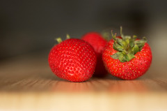 Temptations (KAIROS_www.Irfanahson.com) Tags: red food nature photo strawberry natural stock strawberries 35mmf14ai