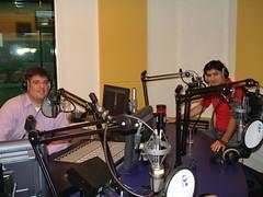 Bij Radio Rijnmond
