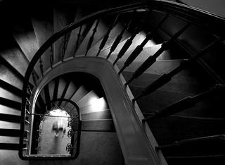 staircase 1 (B&W)